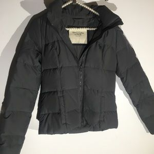 ABERCROMBIE & FITCH DOWN PUFFER JACKET